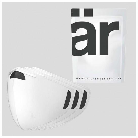 nano filtre AR par 3 pièces